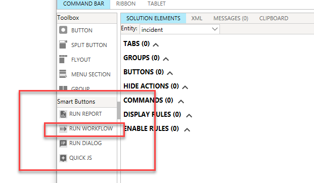 Getting started with Actions in Dynamics 365 & Smart Buttons in Ribbon Workbench 2016