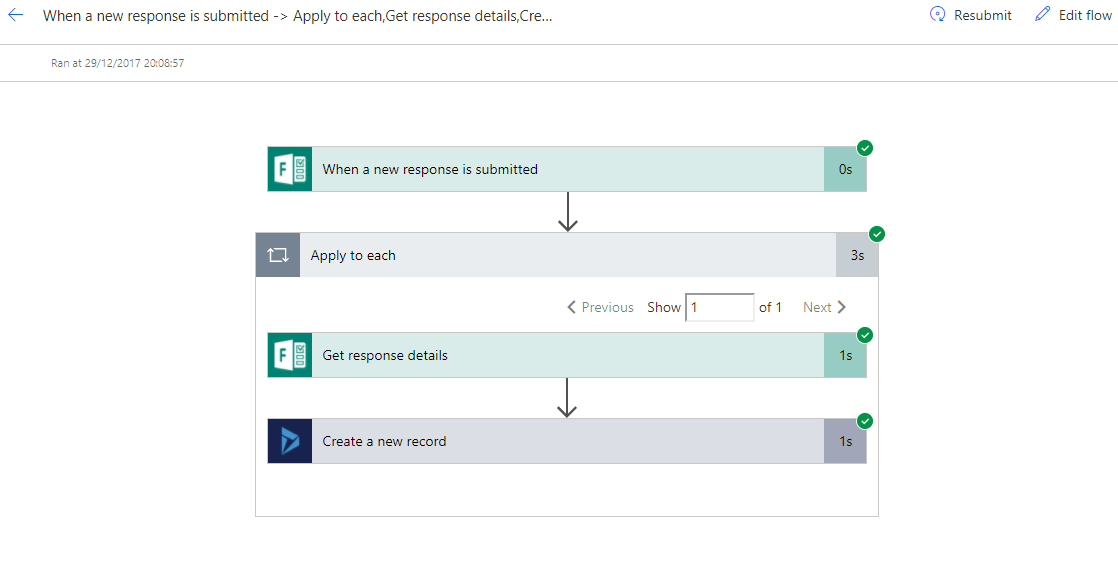 How to create Microsoft Form integration with Dynamics 365