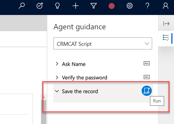 Using Macros in Agent Scripts within Omni Channel Engagement